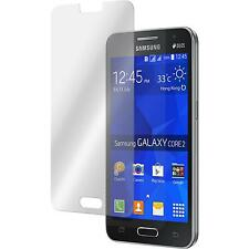 2 x Samsung Galaxy Core 2 Protection Film Tempered Glass clear