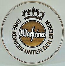 Warsteiner Bier Wandteller Reklame Teller Beer Bar Deko Partykeller 33,5cm 10AW