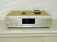 Sony CDP-XA5ES High-End CD-Player in Champagner, inkl. Puck & FB, 2J. Garantie