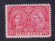 Canada #53 - 3¢ Jubilee - Mint VF NH