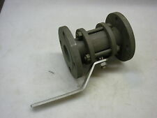 "Contromatics 2"" Flanged Ball Valve 316SS Body Teflon Seat Max PSI 850"