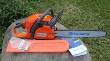 "Husqvarna 450 20"" Bar X-Torq 2-Stroke Gas Powered Chain Saw Chainsaw"