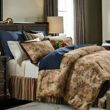 Tammy Southwestern Paisley Country Farmhouse Cottage King 3-Piece Bed Set