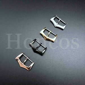 8-20MM Spring Bar Pin Buckle Clasp Watch Leather Rubber Strap Fit Patek Philippe