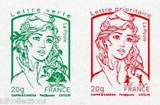 Variété marianne Ciappa paire vert + rouge non dentelé de feuille multitechnique