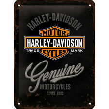 Harley Davidson Motocicletas Decoración Metal Muestra Logo Letrero Publicidad