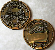 7th Special Forces Group Airborne Army Challenge Coin Brass_CCC