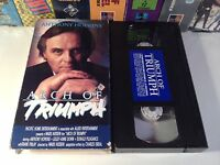 Arch Of Triumph Rare Romantic War Drama VHS 1984 OOP HTF Perkins Pleasance WWII