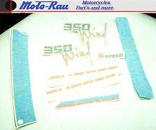 Aprilia Tuareg Wind 350 Aufkleber Sticker Dekorsatz Aufklebersatz blau