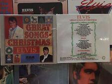 """ELVIS CD """" GREAT SONGS CHRISTMAS """" Guyana Digipack"""