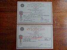 1927 St. John Ambulance - First Aid Course Certificate + Voucher - Liverpool
