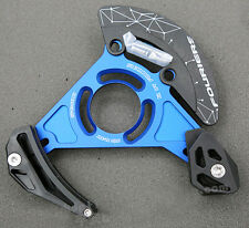 MTB Enduro Downhill Chain Guide Bash Guard 32T - 38T ISCG05 ISCG Blue Fouriers