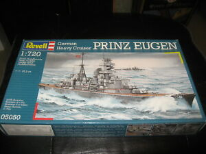 Mint in box German Heavy Cruiser Prinz Eugen in 1/720 scale by Revell from 2008