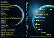 NEW Hilton Hotema 49 Ebooks USB Drive Occult Esoteric Mystic Health Metaphysics