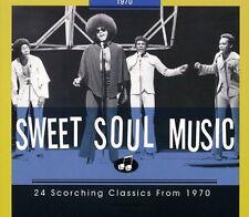 24 Scorching Classics 1970 - Sweet Soul Music (2009, CD NEUF)