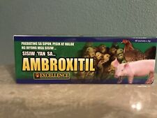 New ListingAmbroxitil (Full Box - 48 Packs) Poultry Supplies - AntiBacterial/AntiInfecti ve