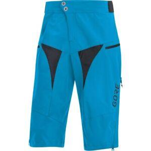 Gore Wear C5 All Mountain Bike Shorts, Blue, Men's Size M, Retail $130