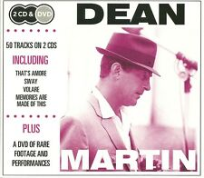 DEAN MARTIN 2 CD & DVD BOX SET, THAT'S AMORE, SWAY, VOLARE & RARE FOOTAGE ON DVD