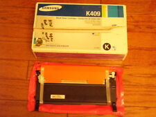 Samsung CLT-K409S Toner Cartridges, Genuine Open Box