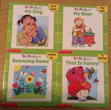 Lot of 4 Scholastic Sight Word Readers Books Year 2003 Kids Children Education