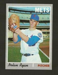 1970 TOPPS BASEBALL #712 NOLAN RYAN NMMT SET BREAK