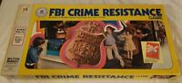 Vintage 1976 FBI Crime Resistance Game (Milton Bradley) NEVER BEEN PLAYED RARE