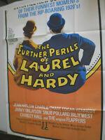 XL  Filmplakat,THE FURTHER PERILS OF,DICK UND DOOF ,STAN LAUREL,OLIVER HARDY#48