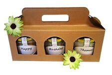 Wurst-Geschenkset 'Happy Birthday' 3 Wurstgläser zum Verschenken, Wurstkonserven