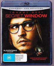LIKE NEW Secret Window (Blu-ray, 2007) R4