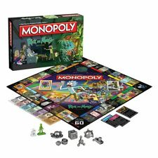 USAopoly Monopoly: Rick and Morty Board Game