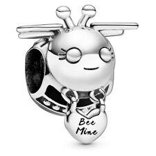 *Pandora Sterling Silver Bee Mine Charm #798789C01