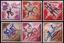 GUINEA. Olympic Games. Overprinted in Carmine. 1963 Scott 312-C60. MNH (BI#24)