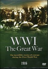 WWI THE GREAT WAR 1916 DVD - STORIES OF COURAGE DURING THE FIRST WORLD WAR