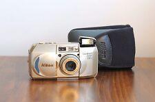 NIKON Lite*Touch Zoom 130ED AF  35mm film Camera, 38-130mm Macro  w/ Nikon Case!