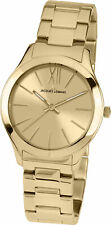 Jacques Lemans Women's 1-1840G Classic Gold Dial Stainless Steel Watch