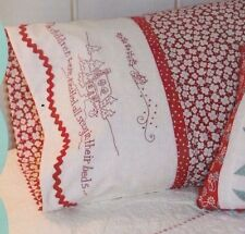 PATTERN -  Night Before Xmas Pillowcase - Christmas stitchery PATTERN