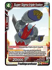 ♦Dragon Ball Super♦ Super Sigma triple fusion : BT3-021 UC -VF-