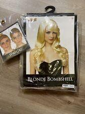 Wig Blonde Bombshell with Wig Cap Halloween Cistumes