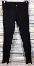 BUFFALO David Bitton  Skinny Jeans Women's Sz 26 Black Mid Rise Stretch Leggings