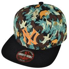 MLB American Needle New York Yankees Animal Camouflage Hat Cap Clip Buckle Sport