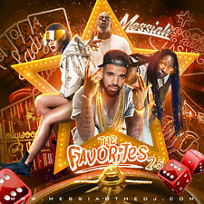 DJ Messiah The Favorites 2.5 NON-Stop 2017 Hip Hop Party Mix CD Mixtape R&B Rnb