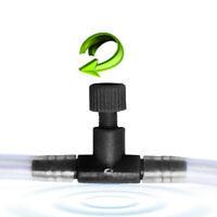 4/6mm Line Tank Aquarium Adjust Air Fish Tubing Flow Control Valves V E9A5