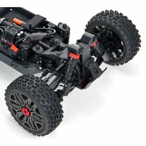 Arrma RC Buggy TYPHON 1:8 4X4 3S BLX Brushless 4wd Buggy Red Neu & Lieferbar