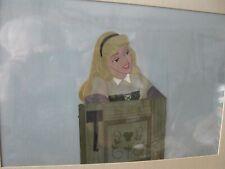 Sleeping Beauty cel Art Corner Disney Original Production cel Excellent