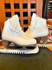 Figure Ice Skates Jackson Glacier White for Women Size 5