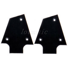 2pcs Black Plastic Electric Guitar Truss Rod Cover For Ibanez Custom
