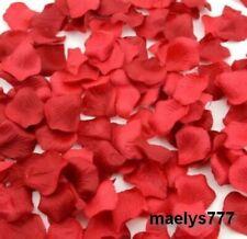 100pcs pétales de rose rouge saint valentin Décoration table mariage cérémonie
