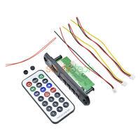 12V Wireless Bluetooth MP3 WMA Decoder Board Audio Module USB TF Radio Car