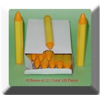 10 Boxes of 12  Total 120 Pieces Yellow Tires Marker Pen Paint-stick - TireTool