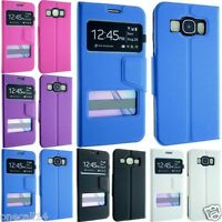 FOR SAMSUNG GALAXY A3 SM-A300F (2015) PU LEATHER WALLET FLIP POUCH COVER CASE